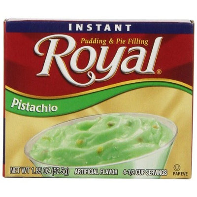 Royal Instant Pudding, Pistachio, 1.8-Ounce (Pack of 12)
