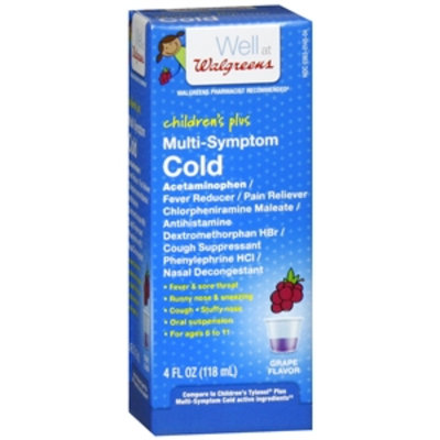 Walgreens Children s Plus Multi Symptom Cold Oral Suspension