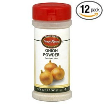 Fancy Pantry Onion Powder, 3.2-Ounce (Pack of 12)