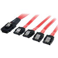 StarTech Startech.com SAS8087S4100 1m SAS SATA Cable