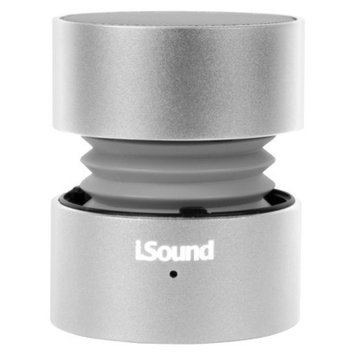 DreamGear i.Sound Fire Rechargeable Speaker - Silver (ISOUND-1687)