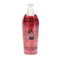 Cheer Chics Head-to-Toe Touch Body Wash & Bubble Bath