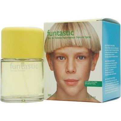 FUNTASTIC BOY by Benetton EDT SPRAY 3.3 OZ for MEN