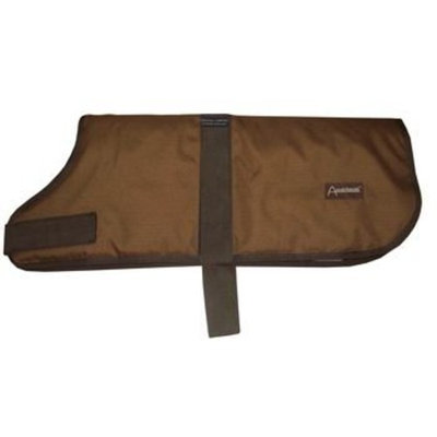 ABO Gear Light Brown Breathable Waterproof Dog Coat MEDIUM LIGHT BROWN