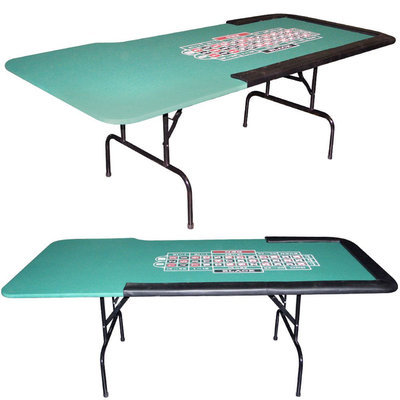 Trademark Commerce Trademark Poker 84 x 29 inch Roulette table with Folding legs