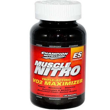 Champion Nutrition Muscle Nitro Triple-Acting VO2 Maximizer 120 Capsul
