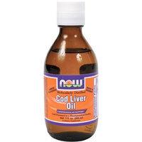 Now Foods Molecular Distilled Cod Liver Oil, Lemon, 200ml, 7-Ounce