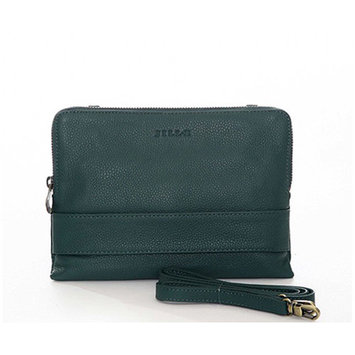 JILL-E DESIGNS LLC Jill-E Designs LLC Ivy Leather Tablet Clutch, Teal