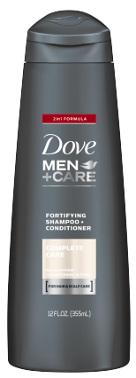 Dove Men+Care Complete Care 2-In-1 Shampoo + Conditioner