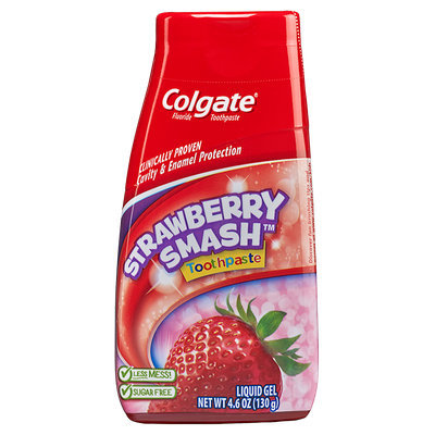 Colgate® Kids 2-in-1 Strawberry Smash Toothpaste