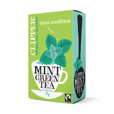 Clipper Fairtrade Mint Green Tea