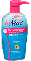 Nair Shower Power Sensitive Formula