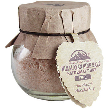 Wbm Llc Himalayan Round Salt Glass Jar Fine