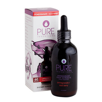 Pure Inventions - Antioxidant Fruit Extracts Liquid Dropper Pomegranate Acai Berry - 4 oz.