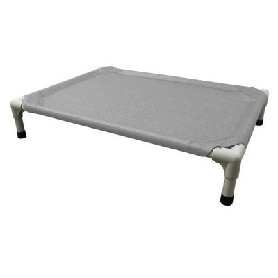 Coolaroo Aluminum Pet Bed, Extra Large, Gray