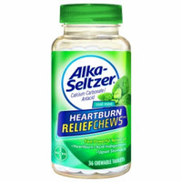 Alka-Seltzer Heartburn ReliefChews Chewable Tablets, Cool Mint