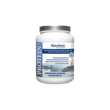 SeraPharma Amidren Performance Protein For Men Over 40 Vanilla 20 Servings