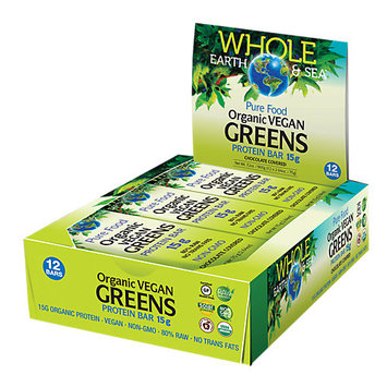 Natural Factors Whole Earth Sea Organic Vegan Protein Bars