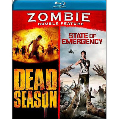 Zombie Double Feature: Dead Season / State Of Emergency (Blu-ray) (Widescreen)