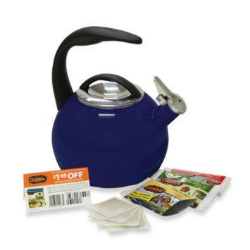 ChantalA Anniversary 2-Quart Tea Kettle in Cobalt Blue