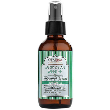 Shea Terra Organics - Facial Water Morroccan Menthe - 4 oz.