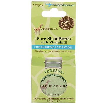 Out Of Africa - 100 Pure Unrefined Shea Butter Verbena - 0.5 oz.