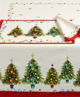 Fiesta Christmas Tree Set of Four Placemats