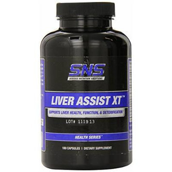 Serious Nutrition Solution Liver Assist XT Capsules, 180 Count