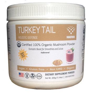 Mushroom Matrix - Turkey Tail Organic Mushroom Powder - 7.14 oz.
