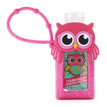 Simple Pleasures Owl Strawberry Antibacterial Hand Sanitizer