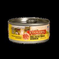 Evanger's Holistic Quail Dinner For Cats