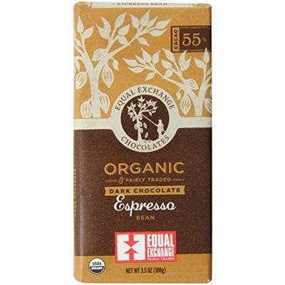 Equal Exchange Organic Chocolate Espresso Bean, 3.5-Ounce (Pack of 6)