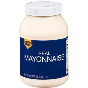 Generic Price First Real Mayonnaise, 30 fl oz