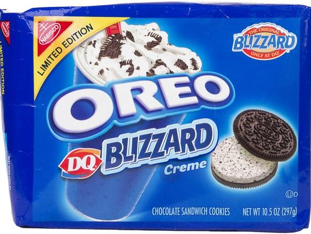Nabisco Oreo Cookies Blizzard Creme