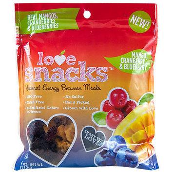 Love Snacks Mango Cranberries