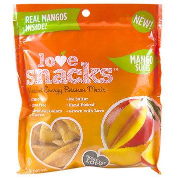 Love Snacks Natural Mango Slices