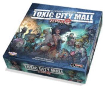 Guillotine Zombicide Toxic City Mall Boardgame