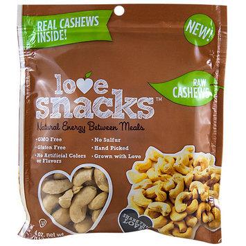 Love Snacks Natural Raw Cashews
