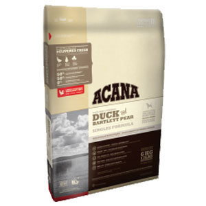Acana Singles Duck & Bartlett Pear Dry Dog Food 25 lbs