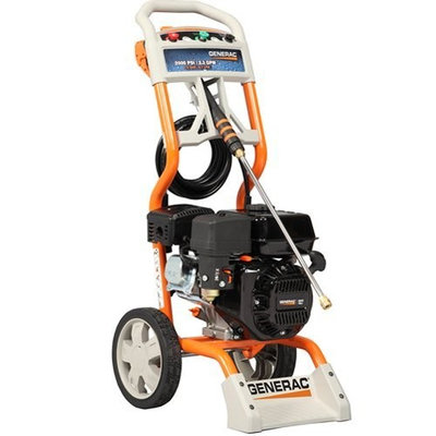 Generac 6020/5987 2,500 PSI 2.3 GPM 196cc OHV Gas Powered Residential Pressure Washer (Discontinued by Manufacturer)