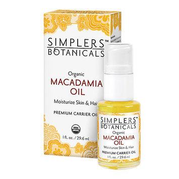 Macadamia Nut Oil Simplers Botanicals 1 oz Oil