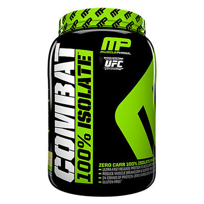 Muscle Pharm Hybrid Series Combat 100% Isolate Banana Spilt - 2 lbs (907 grams)