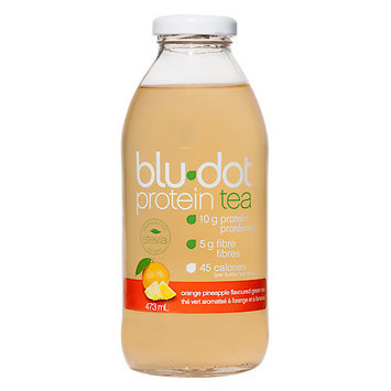 Blue Dot Beverages Blue Dot Protein Tea Orange Pinapple Green Tea