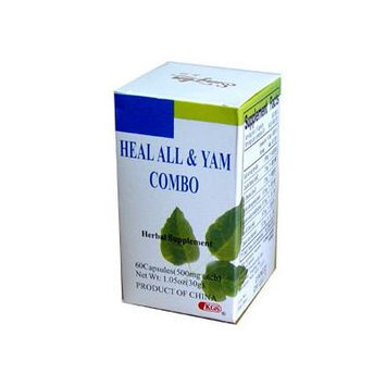 Heal All & Yam Combo (Thyroid Health) 60 Capsules X 3