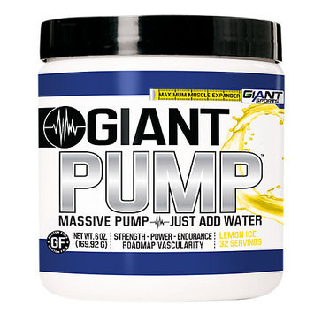 Giant Sports Products Giant Pump Lemon Ice - 32 Servings