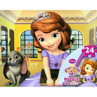 Sofia the First 24-Piece Puzzle in Tin