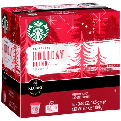STARBUCKS® Holiday Blend 2014 K-Cups®