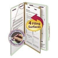 Smead Four-Section Pressboard Classification Legal Folders-