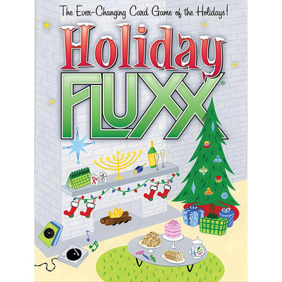 Holiday Fluxx Card Game LOO-064 Looney Labs