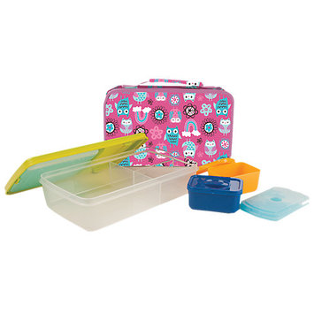 Vitaminder Company Girls Bento Bag With Lunch Pak Carrier